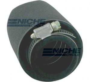 Uni-Filter Straight Black 1-1/2 x 4 UP-4152