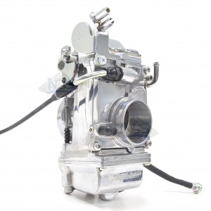 Mikuni HSR45 TM45 45mm Flat Slide Pumper Carburetor Polished TM45-2PK