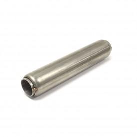 "Stainless Steel Glass Pack Exhaust Pipe Insert Baffle Muffler 1-3/4 1.75"""
