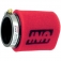 Uni-Filter Angled 2-Stage Red 2-1/2 x 4 UP-4245ST