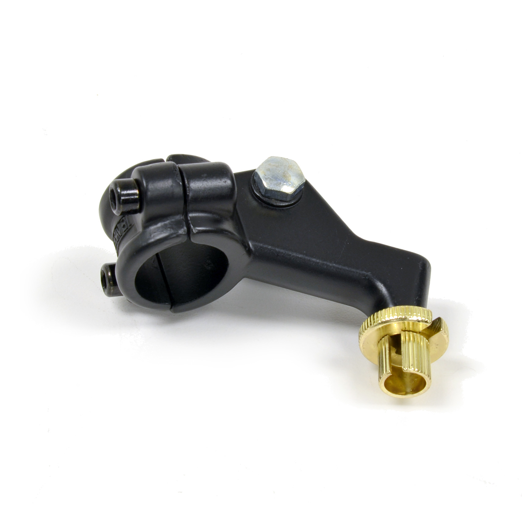 Lever Pivot Bracket : Honda type clutch lever piece perch bracket black