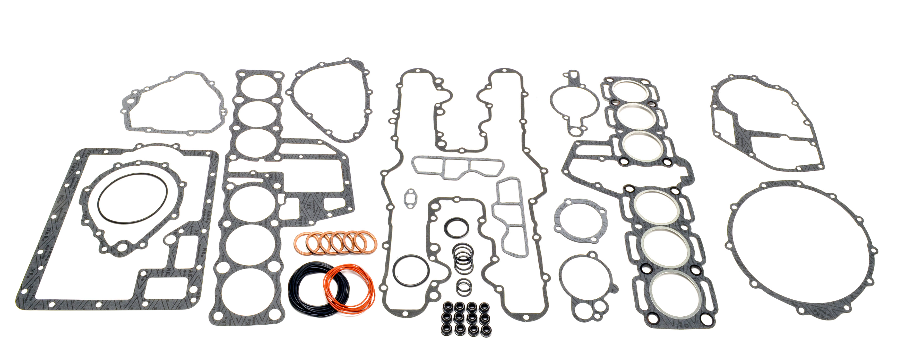 kawasaki kz1300 top bottom end complete engine gasket set kit