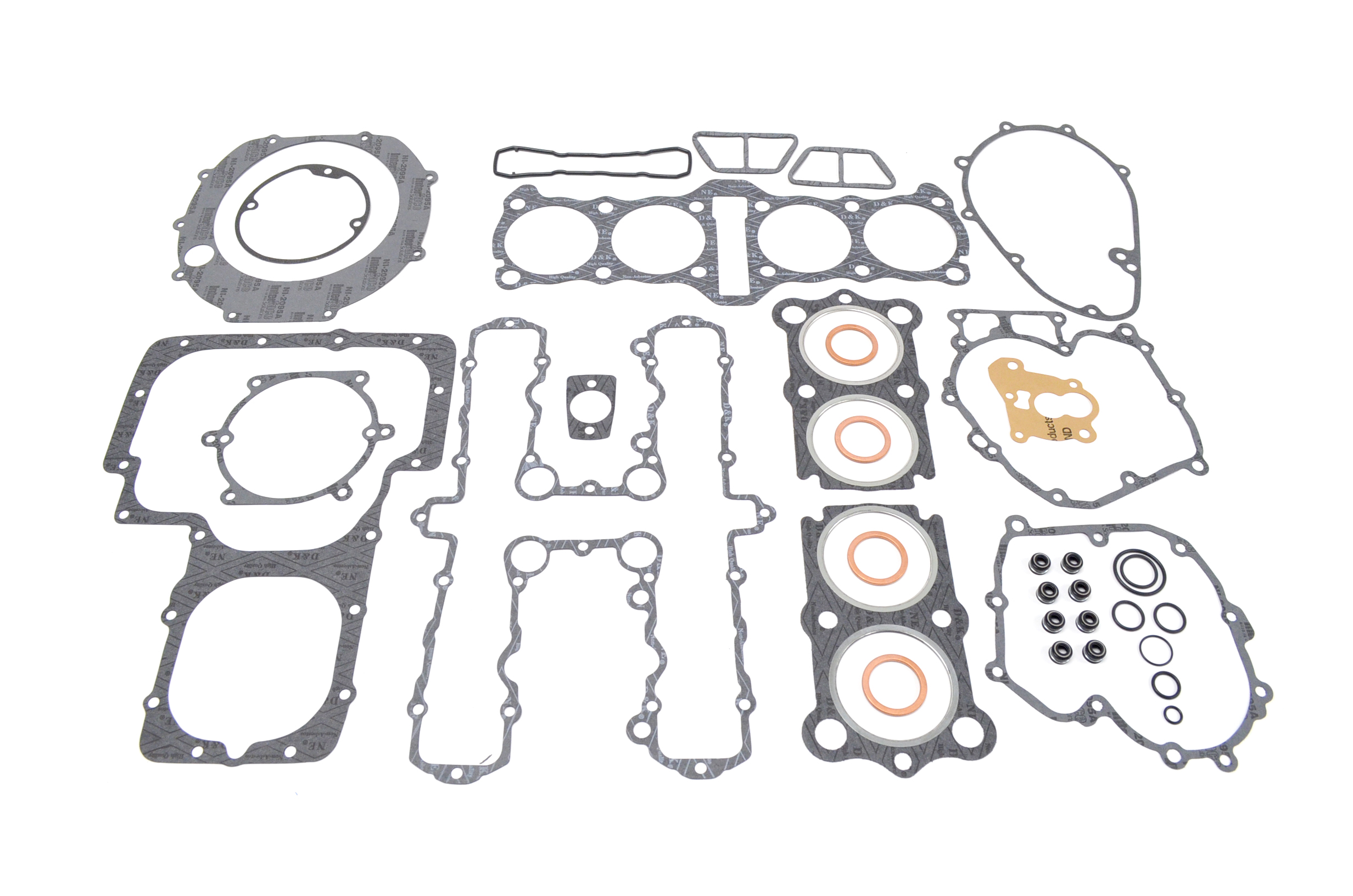 kawasaki kz1100 top bottom end complete engine gasket set kit