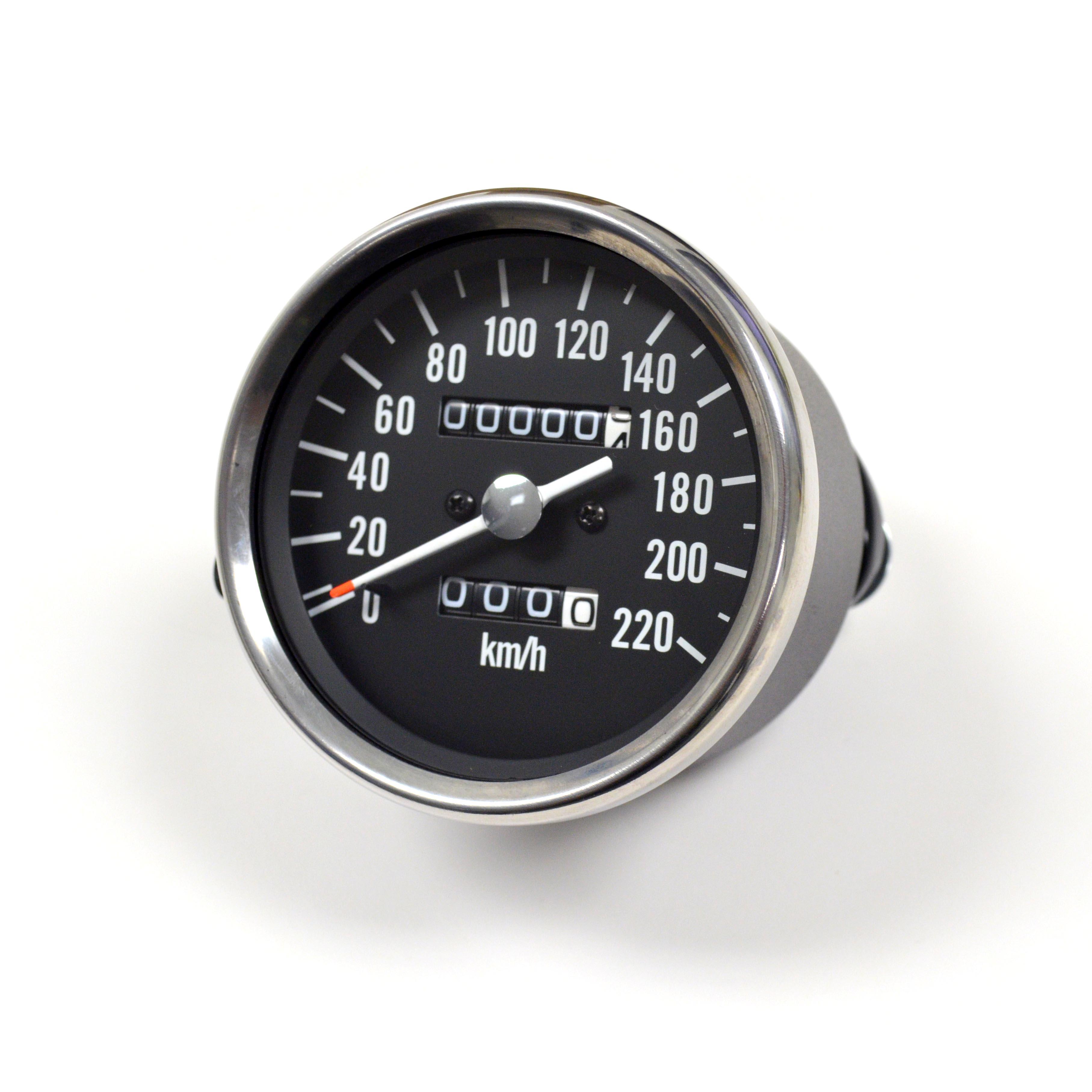 kawasaki h1 mach iii replica reproduction speedo kph speedometer gauge ebay. Black Bedroom Furniture Sets. Home Design Ideas