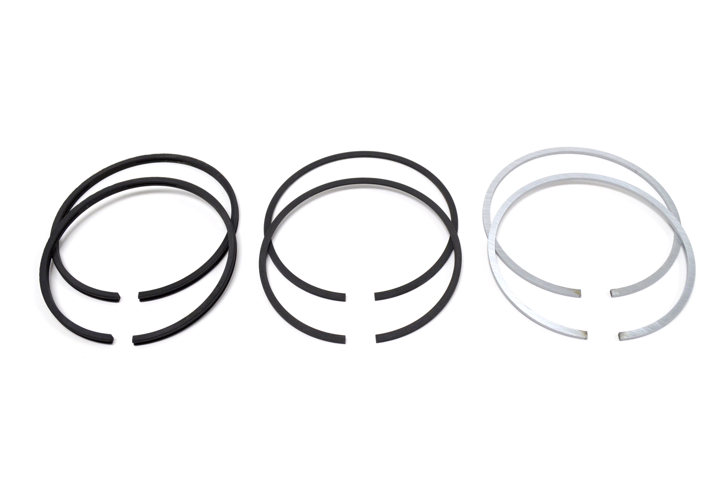 norton commando 750 piston ring set hastings   060 u0026quot  r26260