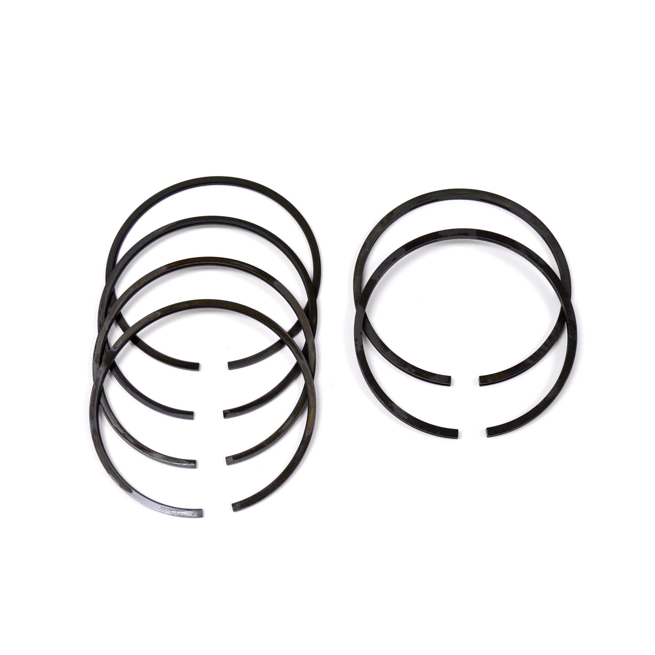 triumph tr6 t120 650 tai economy piston ring set standard
