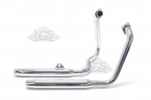 Honda Shadow VT700/750 83-85 Taper Tip Exhaust 001-0921