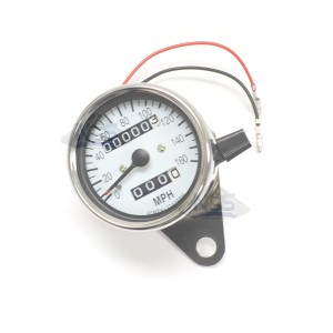 Mini Speedometer Gauge 160 MPH - 2.1:1 Ratio 58-43664A