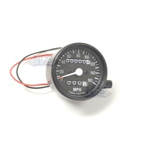 Mini Speedo 2.1:1 ODO/Trip Black 58-43669B