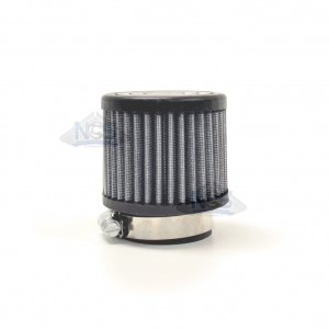 Round Straight Air Filter - 44mm JR-14