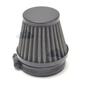 Clamp On Air filter - 42mm Black 12-55742B