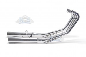 Honda CBX/6 6-2 Chrome Exhaust System 001-1830