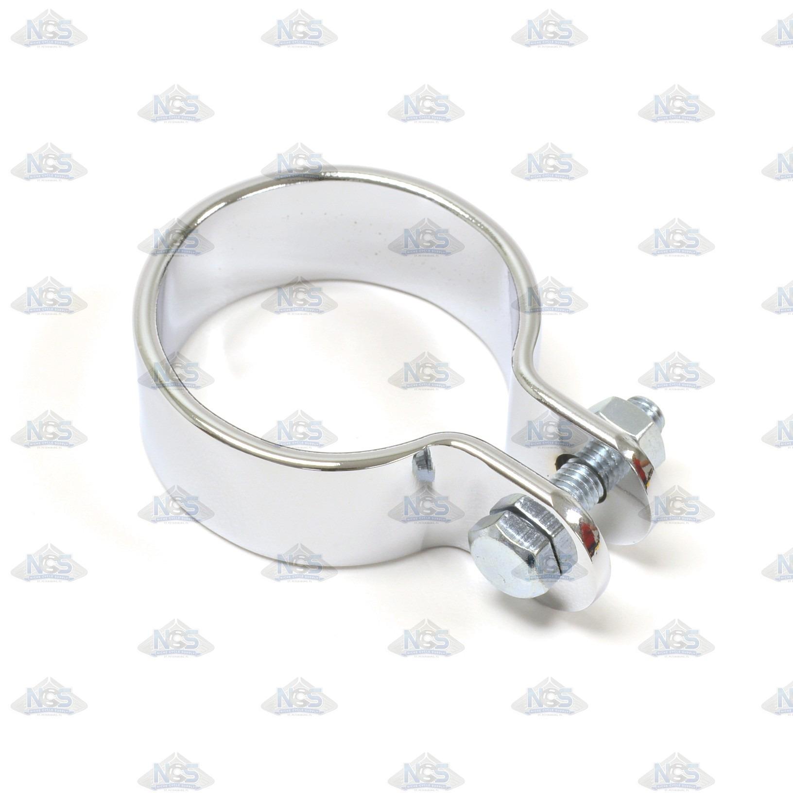 Center clamp muffler
