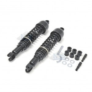 Vintage Japanese Rear Shock Set Black 17-05540
