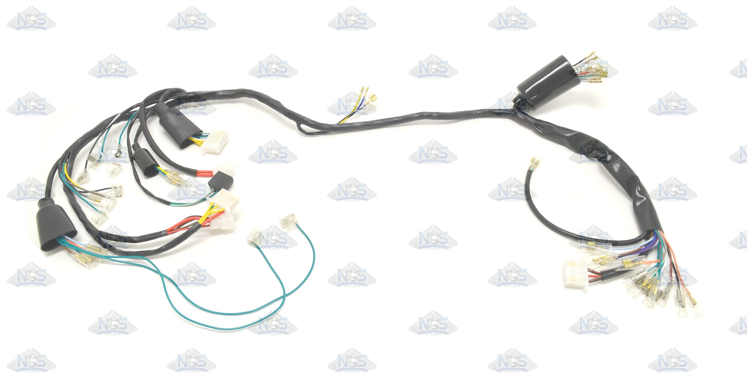 honda cb400f 75 77 complete wire harness 9b8 honda cb400f 75 77 complete wire harness cb400f wiring harness at edmiracle.co
