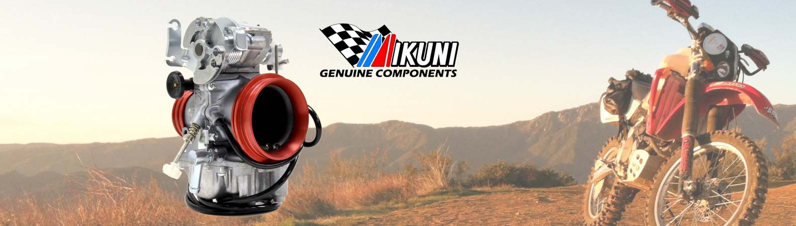 Enduro and street bike carburetor kits