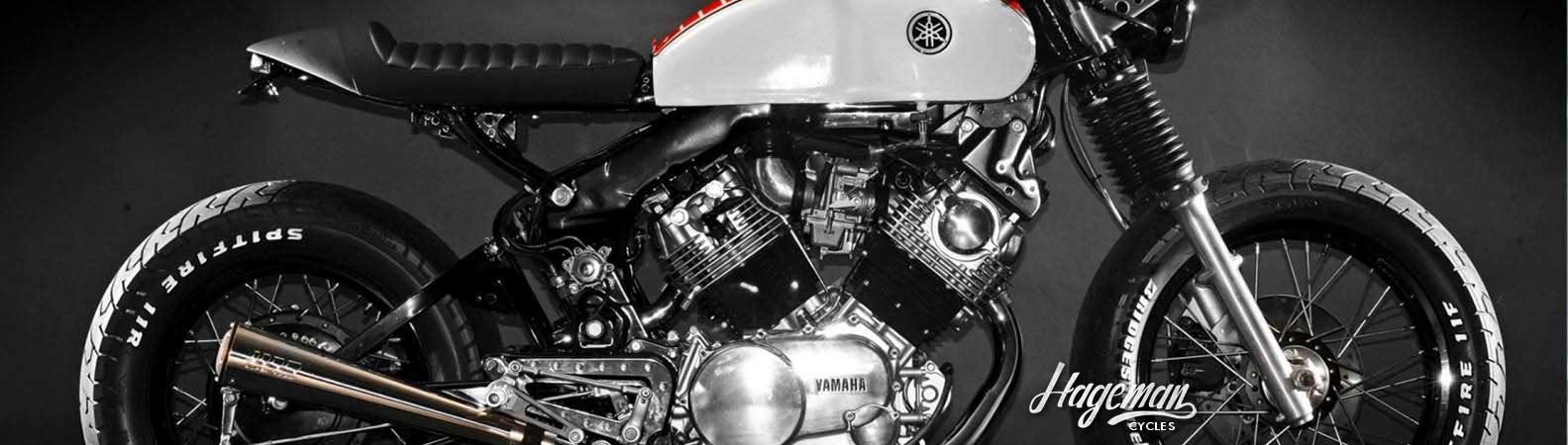 Modern and classic Yamaha motorcycle parts