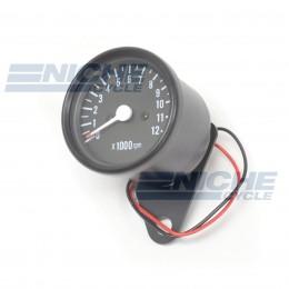 Mini Tachometer Gauge 12k RPM - 1:4 Ratio 58-43693B