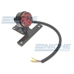 Round Classic Style Taillight - Black 62-21512
