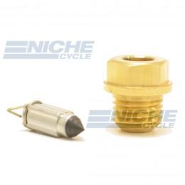 Mikuni 786-15005 - Viton Tip Needle & Seat Assembly 786-15005