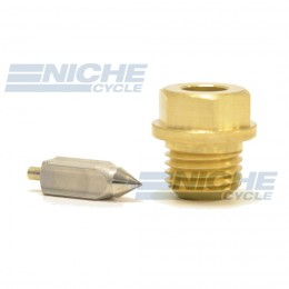Mikuni VM26/26 - Metal Tip Needle & Seat Assembly VM26/26