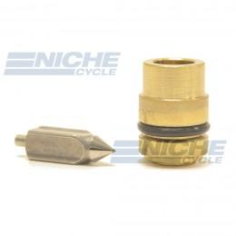 Mikuni VM24/557 - Metal Tip Needle & Seat Assembly VM24/557