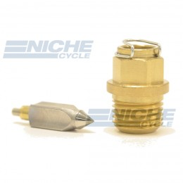 Mikuni VM28/163 - Metal Tip Needle & Seat Assembly VM28/163
