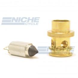 Mikuni 786-27002-1A - Viton Tip Needle & Seat Assembly 786-27002-1A