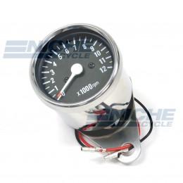 Mini Tachometer Gauge 12k RPM - 1:4 Ratio 58-43693