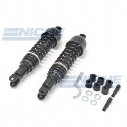 Vintage Japanese Rear Shock Set Black 17-05530