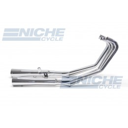 Honda CBX/6 MAC 6-Into-2 Chrome Megaphone Exhaust System 001-1830