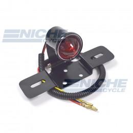 Vintage Round Articulating Taillight  - Black 62-21518