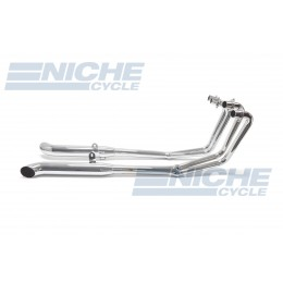Kawasaki KZ650 KZ750 GPZ MAC 4-Into-2 Chrome Turnout Exhaust System 002-0308