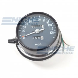Honda CB550 CB750 120 MPH Replica Speedometer 58-37433