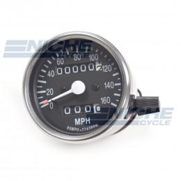 Mini Universal Motorcycle Mechanical 160 MPH 58-43669