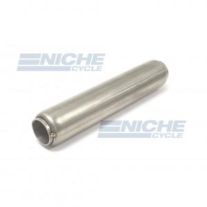 "Stainless Steel Glass Pack Exhaust Pipe Insert Baffle Muffler 1-1/2 1.5"" 009-0317"