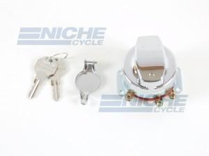 Harley Davidson Replica Big Twin Dash Mounted Ignition Switch - Electronic 07-64032
