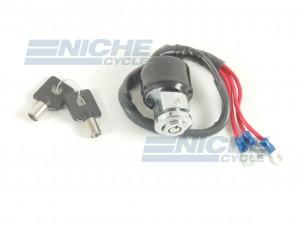 Harley Davidson Style XL FX Round Key Ignition Switch 07-64063