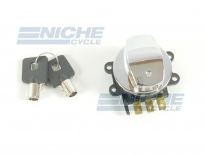 Harley Davidson Replica Late Model Ignition Switch - Electronic 07-64065