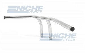 "T-Bar Handlebars 24""x6"" Chrome Smooth 07-93411"
