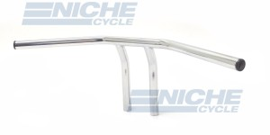"T-Bar Handlebars 24""x8"" Chrome Smooth 07-93412"