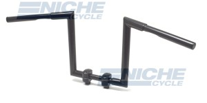 "Handlebar - Fat Z Bars 12"" Rise Black 07-93436B"