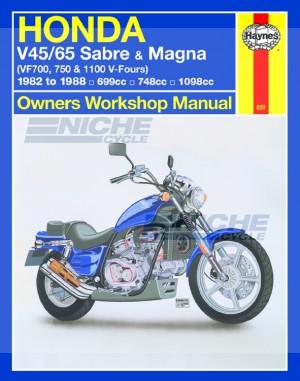 Honda Sabre & Magna V-Fours '82-'86 M820
