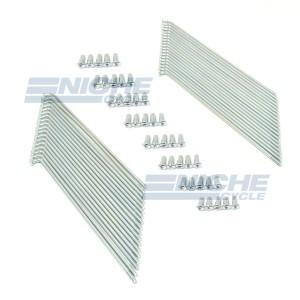 Yamaha Spoke Kit Zinc Front 16-57401