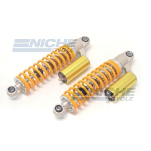 Performance Gas Shocks w/Reservoir - Orange/Gold 17-07711