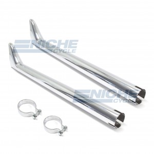 "Fishtail Exhaust Extension 29"" Set 80-75130P"