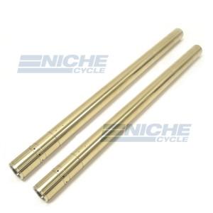 Honda CB750 Early Model Fork Tube Set - Titanium Nitride NCS39638