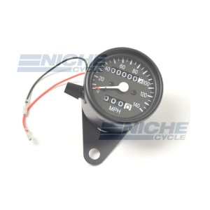 Mini Speedo 1:1 Trip/Bracket Black 58-43665B
