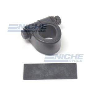 Mini Speed/Tach Bar Clamp - Black 58-43684B