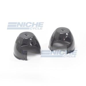 Kawasaki KZ Bottom Gauge Buckets - Black 58-85101